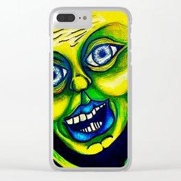 slimebal Clear iPhone Case