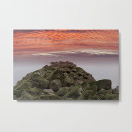 Sunrise Colwyn Bay Metal Print