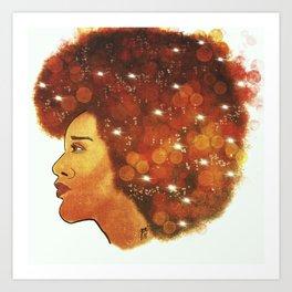 She's Full Of Stars Art Print