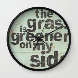 Greener Wall Clock