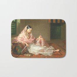 Muslim Lady Reclining - Renaldi Bath Mat