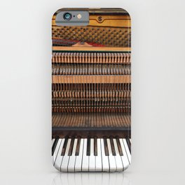 Vintage Upright Piano Number 2 iPhone Case