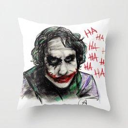 The Joker Throw Pillow