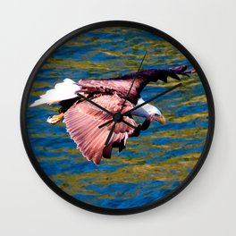 Eagle: Low Level Mission Wall Clock