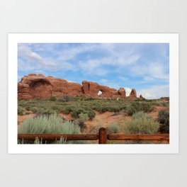 Arches National Park Art Print