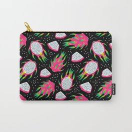 Dragon fruit black Carry-All Pouch