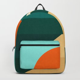 Abstract landscape XIII Backpack