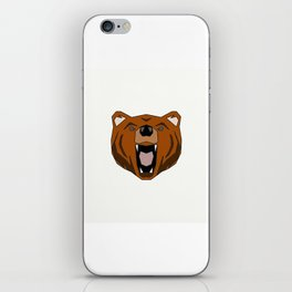 Geometric Bear - Abstract, Animal Design iPhone Skin