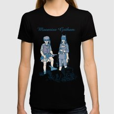Moonrise Gotham Black MEDIUM Womens Fitted Tee