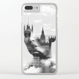 IN THE CLOUDS Clear iPhone Case