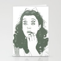 dorothy Stationery Cards featuring Dorothy by Prints_by_Gabriel