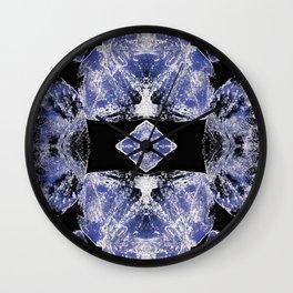 Indigo Mandala-Third Eye Chakra Wall Clock