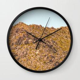 Landscape Joshua Tree 7348 Wall Clock
