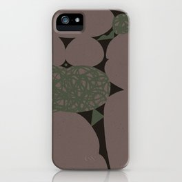 Pondering Formations Alternate Take iPhone Case