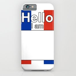 Hello I am from Dominican Republic iPhone Case