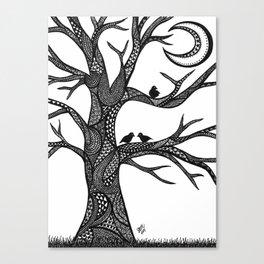 The Moon Tree Canvas Print