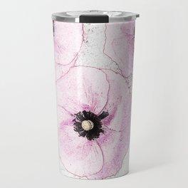 Delicate Poppies Travel Mug