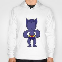xmen Hoodies featuring BEAST by Space Bat designs