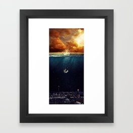 """Our Ends Are Beginnings"" - Limited Print Framed Art Print"
