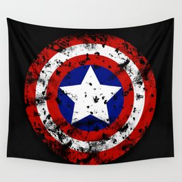 Captain's Shield Wall Tapestry