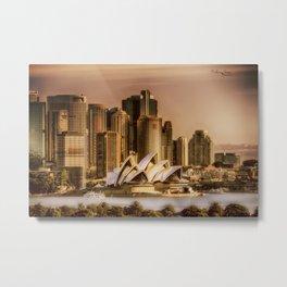 Sydney Cityscape Metal Print