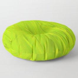 Wall of tall green grass Floor Pillow