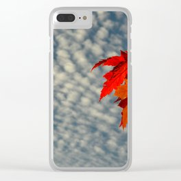 Evening Sky in The Fall by Teresa Thompson Clear iPhone Case