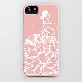 flamenco skirt iPhone Case