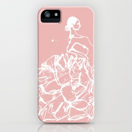 flamenco skirt iPhone Case
