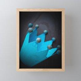 The lost crown Framed Mini Art Print