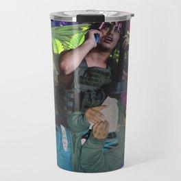 GalaxyTripMusicTrap Travel Mug
