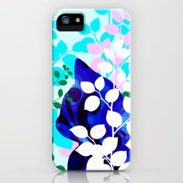 Blue Calico Cat iPhone Case