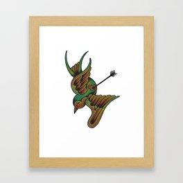 When I Love Framed Art Print