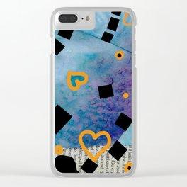 Quadratum 02 bis Clear iPhone Case