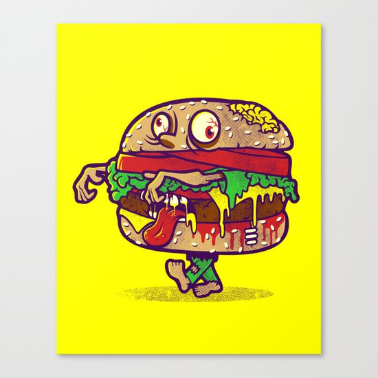 ZOMBURGER Canvas Print