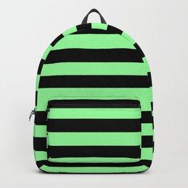 Chrysoprase and Black Stripes Backpack