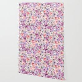 Pastel Floral Pattern Wallpaper
