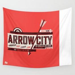 Arrow City Wall Tapestry