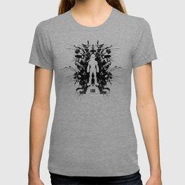 Ink Blot Link Kleptomania Geek Disorders Series T-shirt