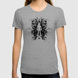 Ink Blot Link Kleptomania Geek Disorders Series T-shirt