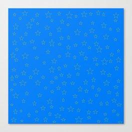 Stars deco Canvas Print