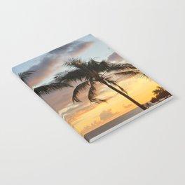 Oahu Sunset Notebook