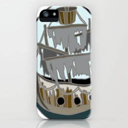 Ghost Ship Colour iPhone Case