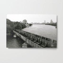 The Charles River Writers Metal Print