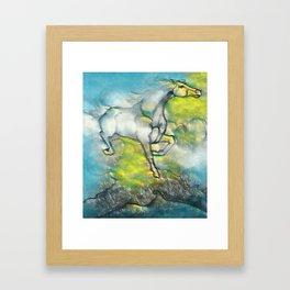 Sky Traveler Framed Art Print