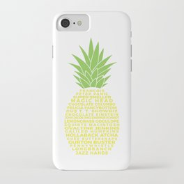 Gus's Nicknames Pineapple iPhone Case