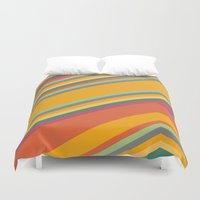 summer Duvet Covers featuring summer by contemporary