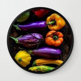 Veggie Delight Wall Clock