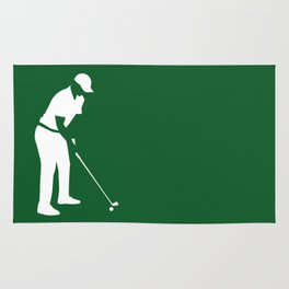 Golf player Rug