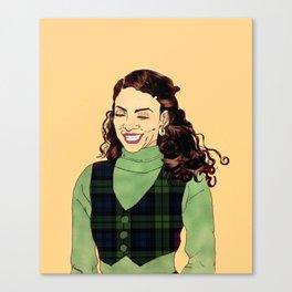 Bad & Boujie Whitley Canvas Print